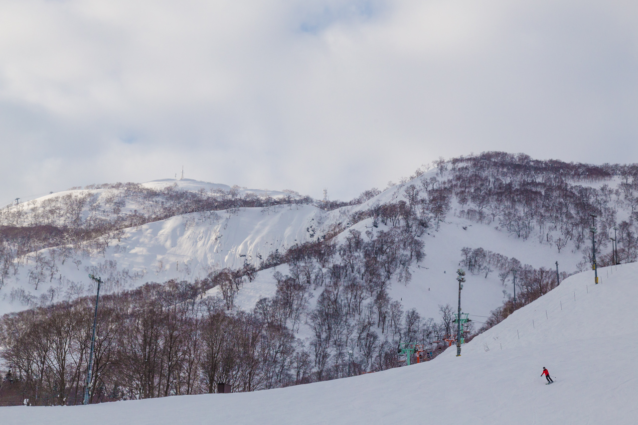 Slopes from Hirafu / Niseko